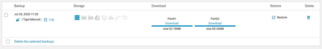 Download Datensicherung