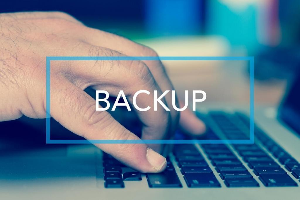 WordPress Backup Sicherheitskopie