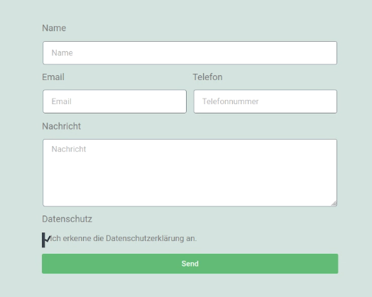 Elementor Pro - Kontaktformular (Schritt 6)