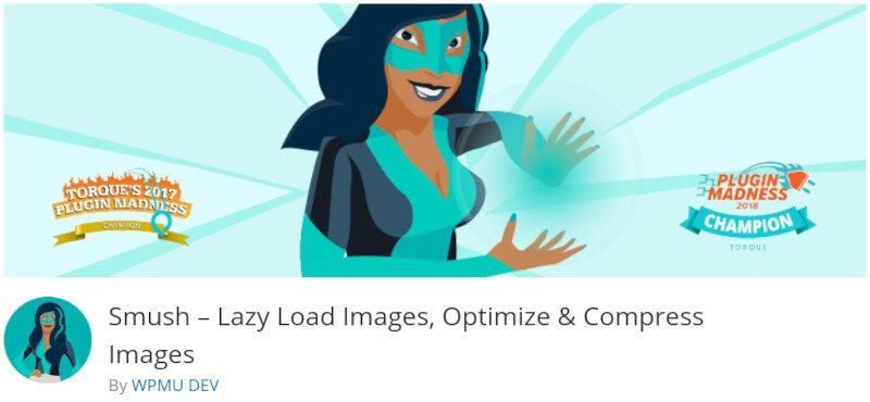 Bild optimieren - WP Smush It