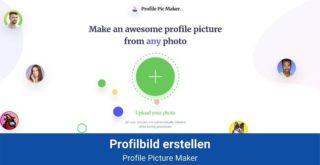 Profilbild erstellen